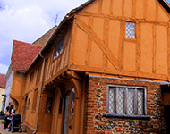 Timber framed building in Suffolk
